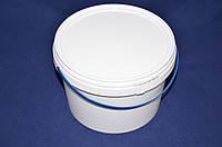 Ведро пластиковое пищевое белое 2,3 л, фото 1