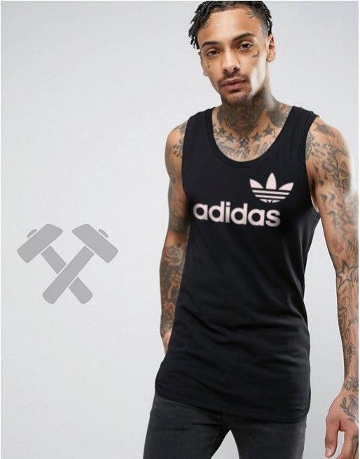 Майка Adidas (Адидас), черная