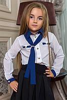Блузка детская 0002юр школа