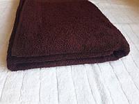 Полотенце махровое Азербайджан 70х140 темно-коричневое