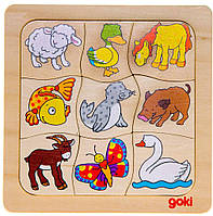 Познавательная и развлекательная игра Кто чей goki 56879