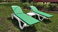 Пляжный набор на 2 : шезлонг + матрас Окфорд + столик
