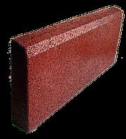 Резиновый бордюр 500/250/40 красный