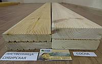 Деревянная терраса у дома из Лиственницы Сибирской