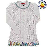 Вязанное платье для девочки от 2 до 6 лет (4743-3)