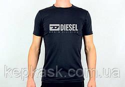 Футболка DIESEL black-blue