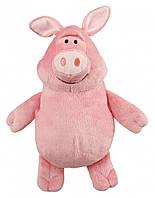 Игрушка Trixie Shaun the Sheep Pig для собак плюшевая, с пищалкой, 24 см