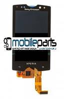 Оригинальный Дисплей (Модуль) + Сенсор (Тачскрин) для Sony Ericsson SK17i Xperia ACTIVE (Черный)