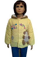 Куртка детская с обезьянкой