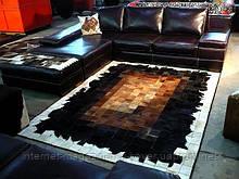 Килим печворк, килим з шкури корови