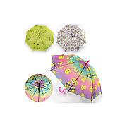 Зонтик детский MK 0862 тканевый, со свистком