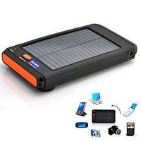 Зарядное устройство на солнечной батарее для ноутбука внешний аккумулятор 11200мАч, фото 1