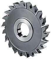 Фреза дисковая трехсторонняя ф  63х8х22 мм Р6М5 разнонаправленный зуб цельная