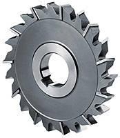 Фреза дисковая трехсторонняя ф  63х12 мм Р18 разнонаправленный зуб