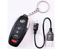 Зажигалка-прикуриватель от USB в виде ключа от машины №4364