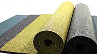 Резиновый коврик 1500х700х15 жёлтый