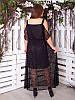 """Шикарное платье большого размера """"Пафос"""" с гипюром, цвета разные!, фото 2"""