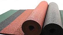 Резиновый коврик 1500х700х15 красный