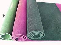 Резиновый коврик 1500х700х15 зелёный