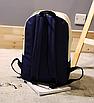 Рюкзак городской мужской женский Teenage Синий, фото 3