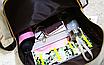 Рюкзак городской мужской женский Teenage Синий, фото 4