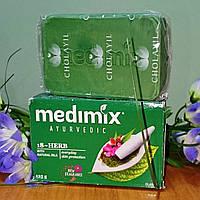 """Аюрведическое мыло """"Медимикс 18 трав"""", 125 гр, производитель """"Cholayil"""""""