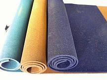 Резиновый коврик 1500х700х15 голубой