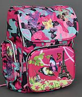 Школьный ранец ортопедический 1-4 класс Бабочка для девочек. Рюкзак, портфель для школы