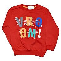 """Батник детский """"Vroom"""" для мальчиков.трикотаж. размеры 1-4 года"""