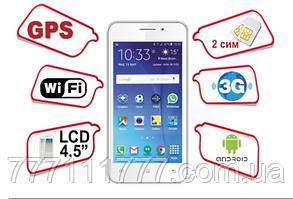 "Планшет-телефон Lenovo A150 white белый 6"" 512/1304МБ 5Мп 3G Android Гарантия! Уценка"