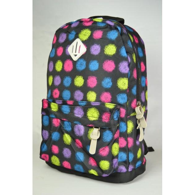 Модный рюкзак с ярким принтом