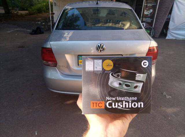 Автобаферы ТТС на Volkswagen Polo -1