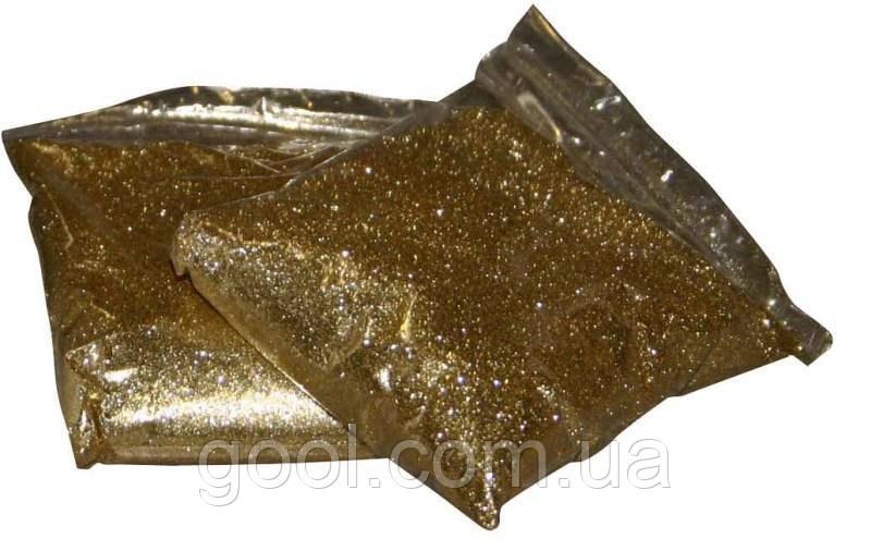 Цветной блеск Мапей Мапе Глиттер Золото для эпокксидной затирки упаковка 0,5 кг