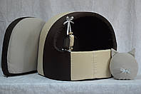 Будка - домик для котов и собак Комфорт лето