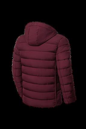 Стильная мужская зимняя куртка бордового цвета (р. 48-56) арт. 8805А, фото 2