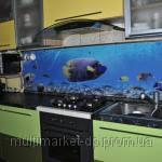 Стеклянный фартук на кухню под заказ Киев,стеклянный фартук с подсветкой Киев,стеклянные панели