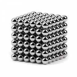 Неокуб Neocube 216 шариков 5мм в боксе Silver