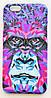 Чехол на Айфон 6/6s Luxo Face приятный Пластик светится в темноте Неон Горилла