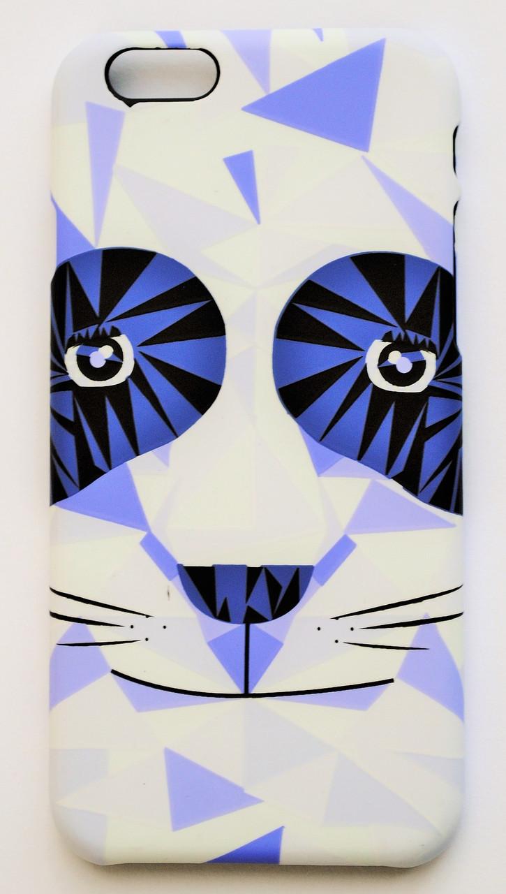 Чехол на Айфон 6/6s Luxo Face приятный Пластик светится в темноте Панда
