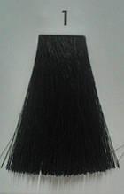 1 Черный, крем-краска для волос Luxor Color