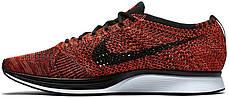 Мужские кроссовки Nike Flyknit Racer University Red 526628-608, Найк Флайнит, фото 2