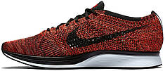Мужские кроссовки Nike Flyknit Racer University Red