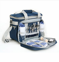 Набор для пикника Picnic Icy Bag 3(KG2708P) Blue CHECKERS