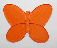 Органайзер для набора бисера бабочка, 4 шт. на палитре. Размер общий 80Х60 мм