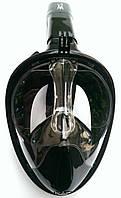 Полнолицевая маска для снорклинга BS Diver Easybreath; чёрная, фото 1