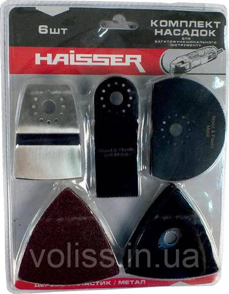 Комплект насадок для реноватора 6 шт Haisser HS107001