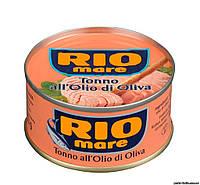 Тунец в оливковом масле Rio Mare All'Olio di oliva 80 г
