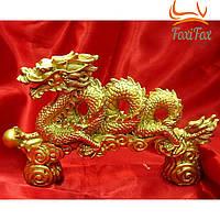 Статуэтка дракон с жемчужиной в лапе
