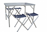 Стол со стульями KingCamp TABLE AND CHAIR SET(KC3850)