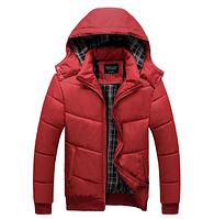 Теплая мужская зимняя куртка. Модель 6113, фото 2